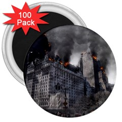 Apocalypse War Armageddon 3  Magnets (100 Pack) by Celenk