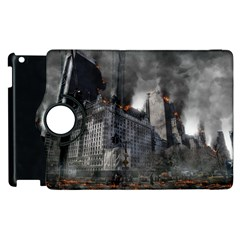 Apocalypse War Armageddon Apple Ipad 2 Flip 360 Case by Celenk
