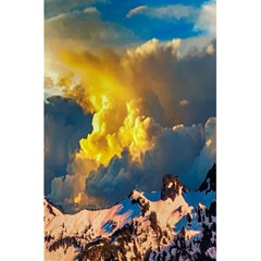 Mountains Clouds Landscape Scenic 5 5  X 8 5  Notebooks by Celenk