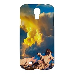 Mountains Clouds Landscape Scenic Samsung Galaxy S4 I9500/i9505 Hardshell Case by Celenk