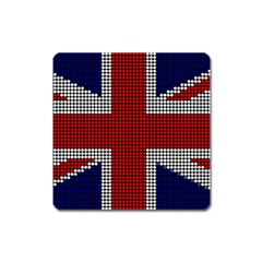 Union Jack Flag British Flag Square Magnet by Celenk