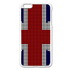 Union Jack Flag British Flag Apple Iphone 6 Plus/6s Plus Enamel White Case by Celenk