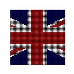 Union Jack Flag British Flag Small Satin Scarf (square) by Celenk