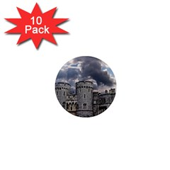 Castle Building Architecture 1  Mini Magnet (10 Pack)  by Celenk