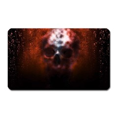 Skull Horror Halloween Death Dead Magnet (rectangular) by Celenk