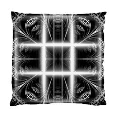 Geometry Pattern Backdrop Design Standard Cushion Case (two Sides) by Celenk