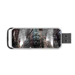 War Destruction Armageddon Disaster Portable Usb Flash (two Sides) by Celenk