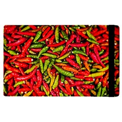 Chilli Pepper Spicy Hot Red Spice Apple Ipad Pro 9 7   Flip Case by Celenk