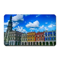 Buildings Architecture Architectural Magnet (rectangular) by Celenk