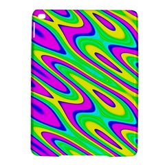 Lilac Yellow Wave Abstract Pattern Ipad Air 2 Hardshell Cases by Celenk
