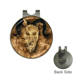 Skull Demon Scary Halloween Horror Hat Clips With Golf Markers by Celenk