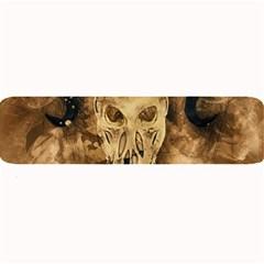 Skull Demon Scary Halloween Horror Large Bar Mats by Celenk