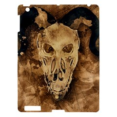 Skull Demon Scary Halloween Horror Apple Ipad 3/4 Hardshell Case by Celenk