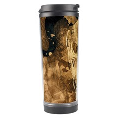 Skull Demon Scary Halloween Horror Travel Tumbler by Celenk