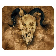 Skull Demon Scary Halloween Horror Double Sided Flano Blanket (small)  by Celenk