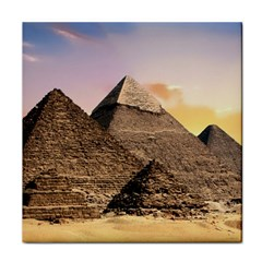 Pyramids Egypt Tile Coasters by Celenk