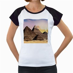 Pyramids Egypt Women s Cap Sleeve T by Celenk