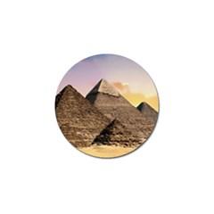 Pyramids Egypt Golf Ball Marker (10 Pack) by Celenk
