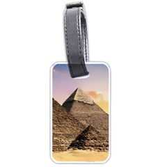 Pyramids Egypt Luggage Tags (two Sides) by Celenk