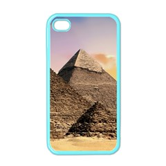 Pyramids Egypt Apple Iphone 4 Case (color) by Celenk