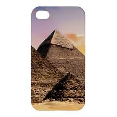 Pyramids Egypt Apple Iphone 4/4s Premium Hardshell Case by Celenk