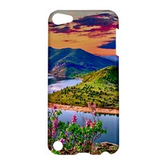 Landscape River Nature Water Sky Apple Ipod Touch 5 Hardshell Case by Celenk