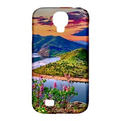 Landscape River Nature Water Sky Samsung Galaxy S4 Classic Hardshell Case (pc+silicone) by Celenk