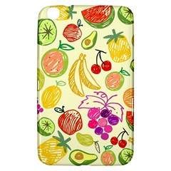 Cute Fruits Pattern Samsung Galaxy Tab 3 (8 ) T3100 Hardshell Case  by paulaoliveiradesign