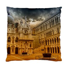 Palace Monument Architecture Standard Cushion Case (one Side) by Celenk