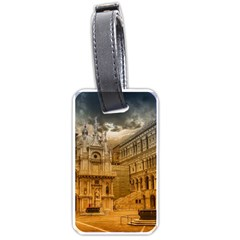 Palace Monument Architecture Luggage Tags (one Side)  by Celenk