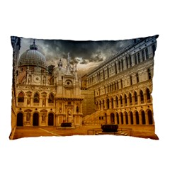 Palace Monument Architecture Pillow Case (two Sides) by Celenk