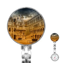Palace Monument Architecture Stainless Steel Nurses Watch by Celenk
