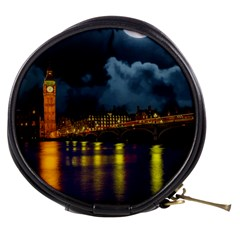 London Skyline England Landmark Mini Makeup Bags by Celenk