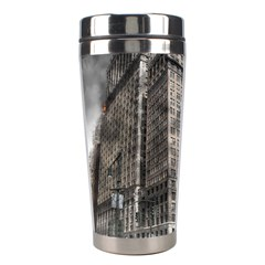 World War Armageddon Destruction Stainless Steel Travel Tumblers by Celenk