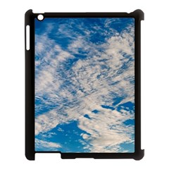 Clouds Sky Scene Apple Ipad 3/4 Case (black) by Celenk