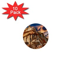 Canyon Dramatic Landscape Sky 1  Mini Buttons (10 Pack)  by Celenk