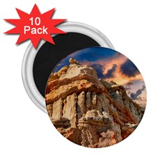 Canyon Dramatic Landscape Sky 2 25  Magnets (10 Pack)  by Celenk