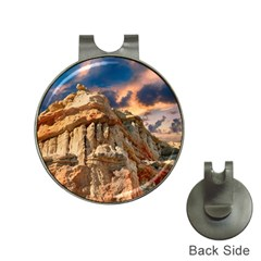 Canyon Dramatic Landscape Sky Hat Clips With Golf Markers by Celenk