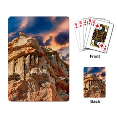Canyon Dramatic Landscape Sky Playing Card by Celenk