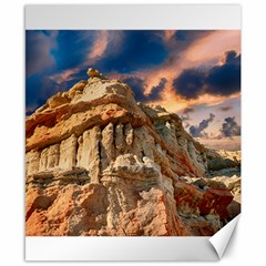Canyon Dramatic Landscape Sky Canvas 8  X 10  by Celenk