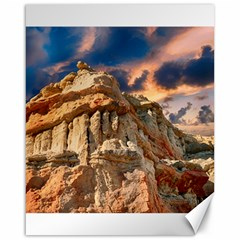 Canyon Dramatic Landscape Sky Canvas 16  X 20   by Celenk