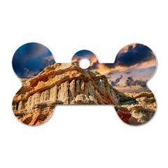 Canyon Dramatic Landscape Sky Dog Tag Bone (one Side) by Celenk