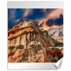 Canyon Dramatic Landscape Sky Canvas 11  X 14   by Celenk