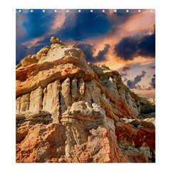 Canyon Dramatic Landscape Sky Shower Curtain 66  X 72  (large)  by Celenk
