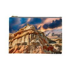 Canyon Dramatic Landscape Sky Cosmetic Bag (large)  by Celenk