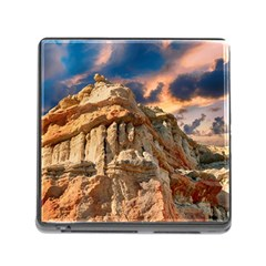 Canyon Dramatic Landscape Sky Memory Card Reader (square) by Celenk