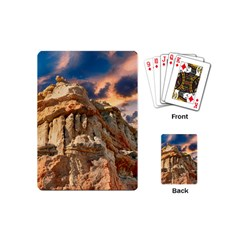 Canyon Dramatic Landscape Sky Playing Cards (mini)  by Celenk