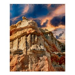 Canyon Dramatic Landscape Sky Shower Curtain 60  X 72  (medium)  by Celenk