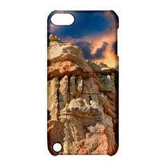 Canyon Dramatic Landscape Sky Apple Ipod Touch 5 Hardshell Case With Stand by Celenk