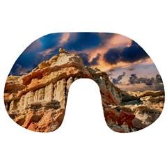 Canyon Dramatic Landscape Sky Travel Neck Pillows by Celenk